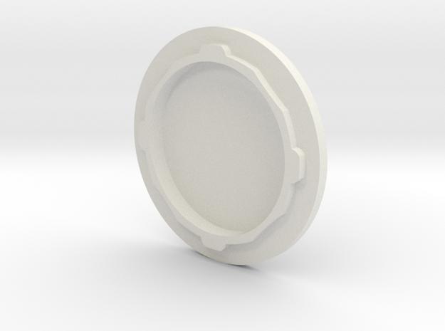 Main Engine Cap V0.1 in White Natural Versatile Plastic