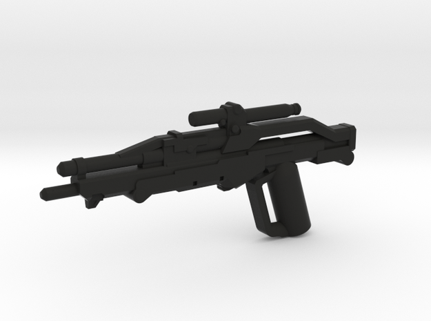 Valkyrie Sniper Rifle in Black Natural Versatile Plastic