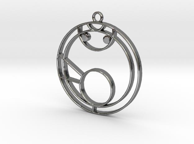 Mya - Necklace in Premium Silver