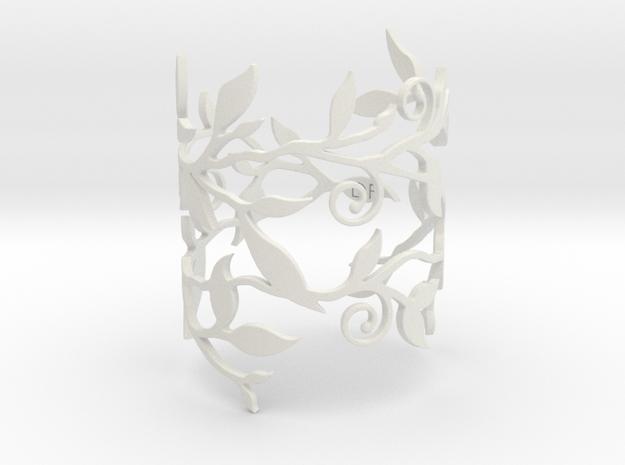 Branche Bracelet (LARGE) 3d printed Black Strong & Flexible version