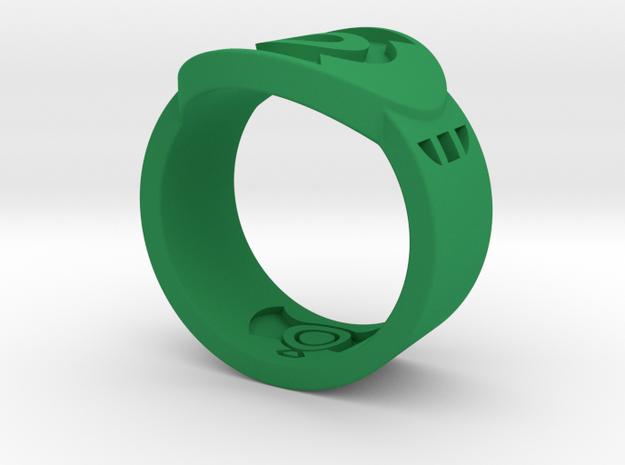 FF GL Sz 10 in Green Processed Versatile Plastic