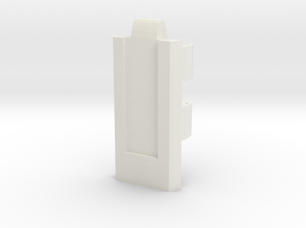 DNA30 & DNA20 19mm ID Tube Cradle—V1 in White Natural Versatile Plastic