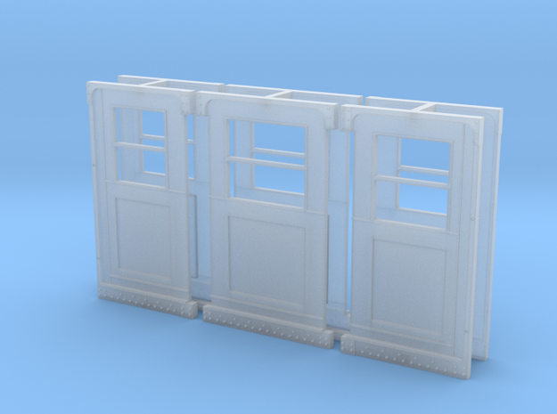 Baldie Original Style Doors in Frosted Ultra Detail