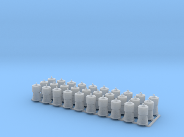 Charcoal Heaters for Reefers HO Scale X30