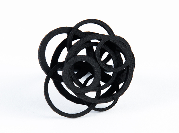 Circle Ring  size 7 3d printed Add a caption...