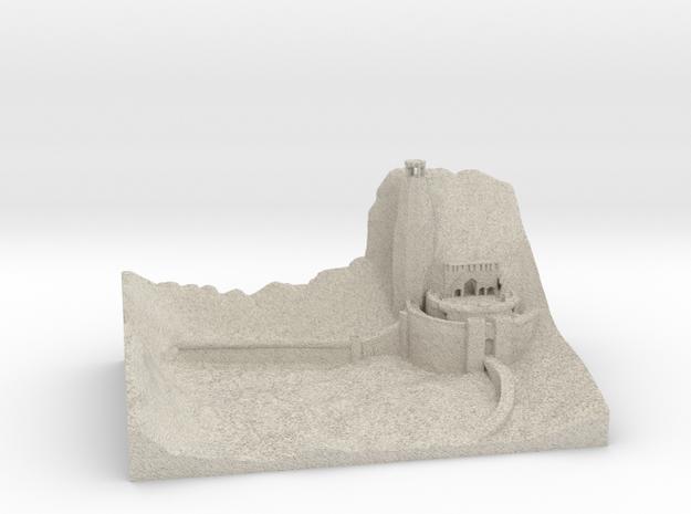 Helmsdeep in Natural Sandstone
