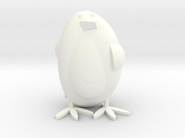 Penguin style 2 in White Processed Versatile Plastic