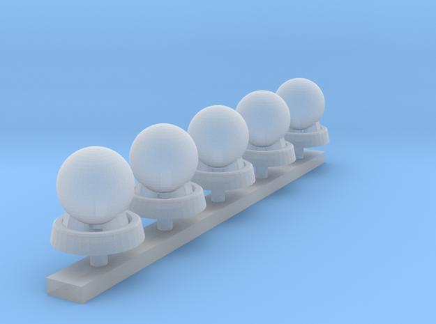Mobela Mobile Siren - Set of 5 in Smooth Fine Detail Plastic