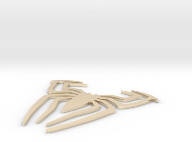 Spiderman 01 in 14K Gold