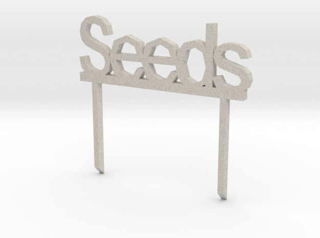 Customizable Garden Signs 20130423-17926-t4wp7i-0 in Natural Sandstone