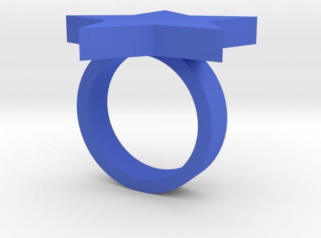 Star Ring (JR_0286_Star) 3d printed