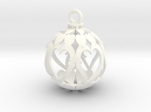 Yourinmyhart TNT Snow 6cm in White Processed Versatile Plastic