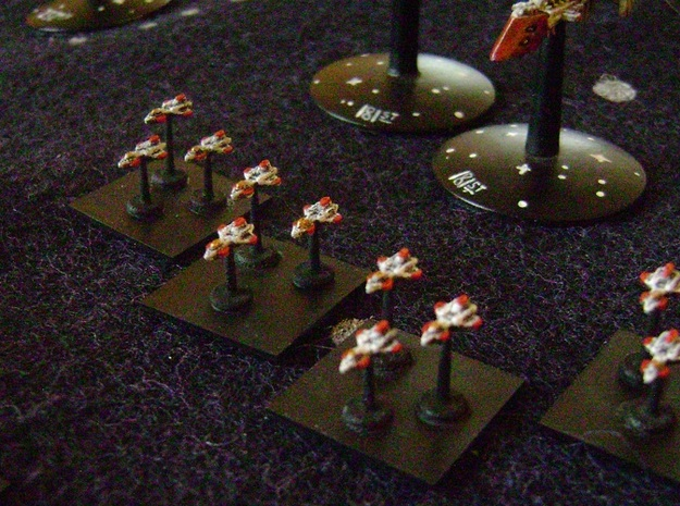 BFG Avenger Bombers (x24) in White Strong & Flexible