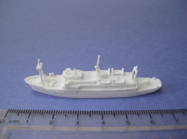 RRS Discovery (1962) (1:1200) 3d printed
