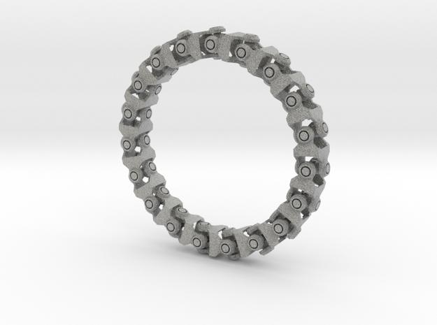 Universal Joint Bracelet v2.0 in Metallic Plastic