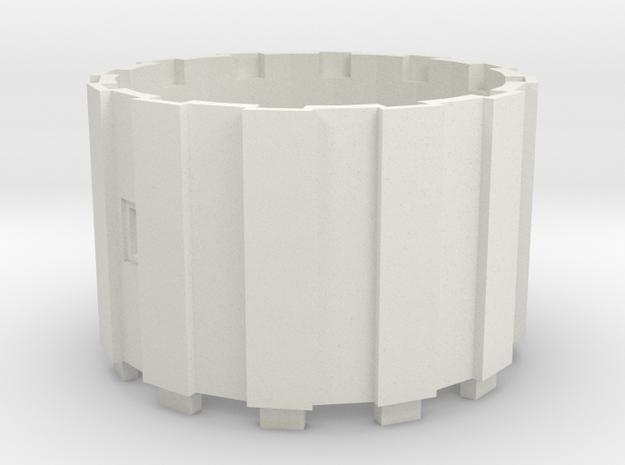 Watertoren 1:160 Tussenring in White Strong & Flexible