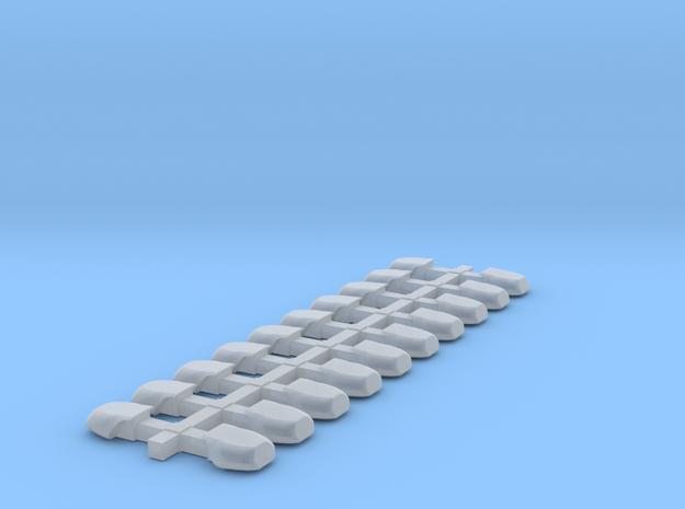 1:43 DBS 4000 Ecken für 10 Balken in Smooth Fine Detail Plastic