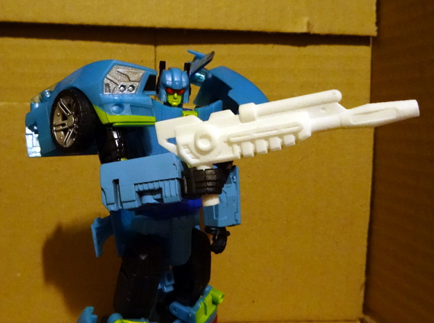 Generations Nightbeat Rifle in White Strong & Flexible Polished