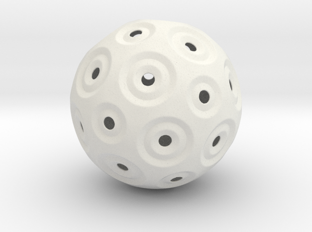 Sphere - O in White Strong & Flexible