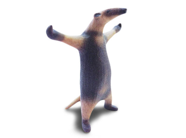 Come at me Bro, I'm an Anteater in Full Color Sandstone