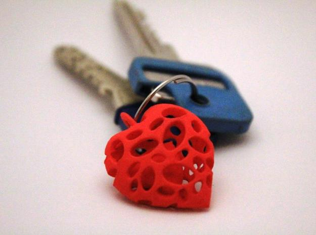 heart in heart small 3d printed