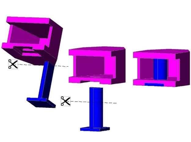 Ommi51v6 (Spur Z 1:220) 3d printed