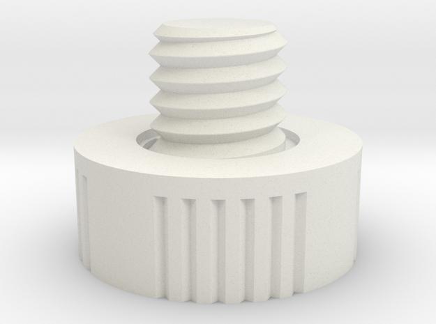Feststellschraube 141011 Sh001 in White Natural Versatile Plastic