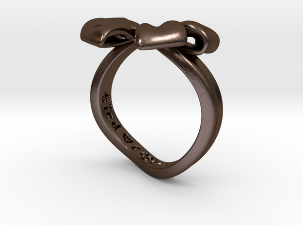 Bow Ring - Friendship ring - Tied together - Size