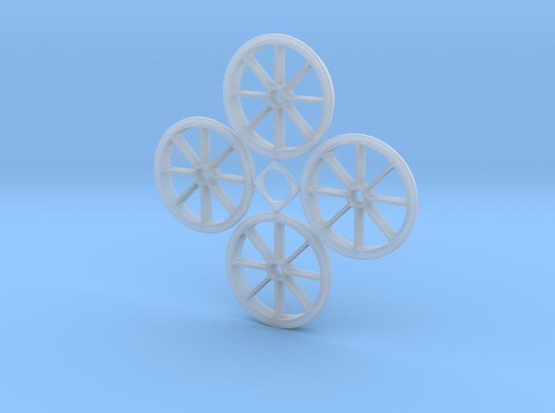 1:48 Hawaiian Sugar Cane Car 18 Inch Wheels in Smooth Fine Detail Plastic