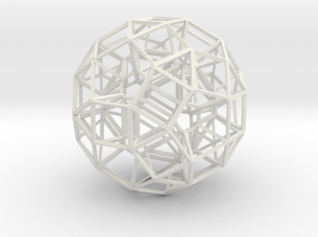 Dodecahedron .06 5cm 3d printed