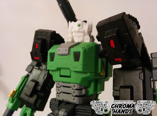 Toyworld Hardbone G1 Style Head Replacement