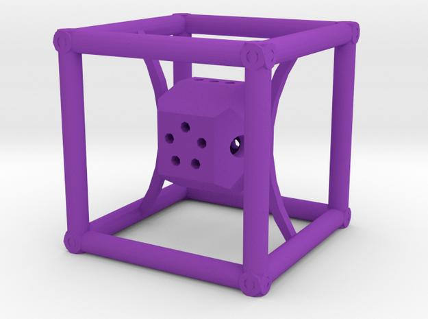 Dice62 in Purple Processed Versatile Plastic