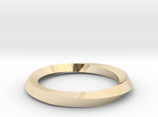 Mobius Wedding Ring-Size 7 in 14K Yellow Gold