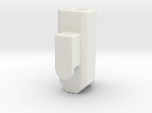 Bee Brake Cap in White Natural Versatile Plastic