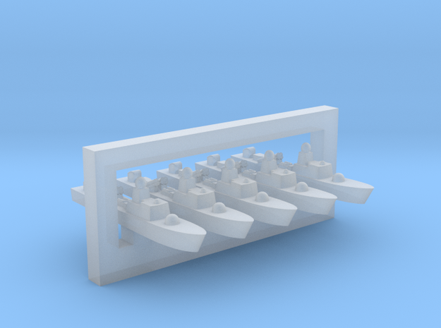 60SA02 1:6000 FPB57 Dogan x5 in Smooth Fine Detail Plastic