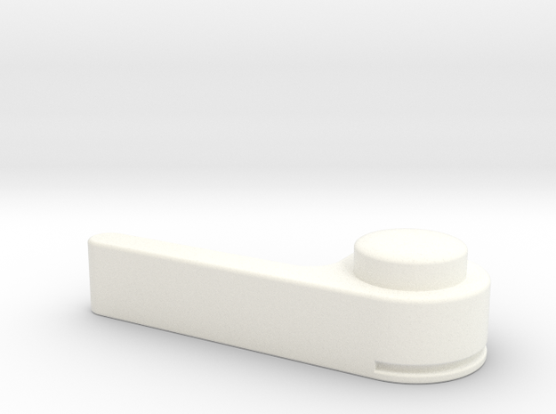 Bugaboo Gen 1 Brake Lever in White Processed Versatile Plastic
