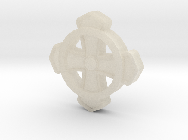 Commons Cross Tatzenkreuz 3d printed