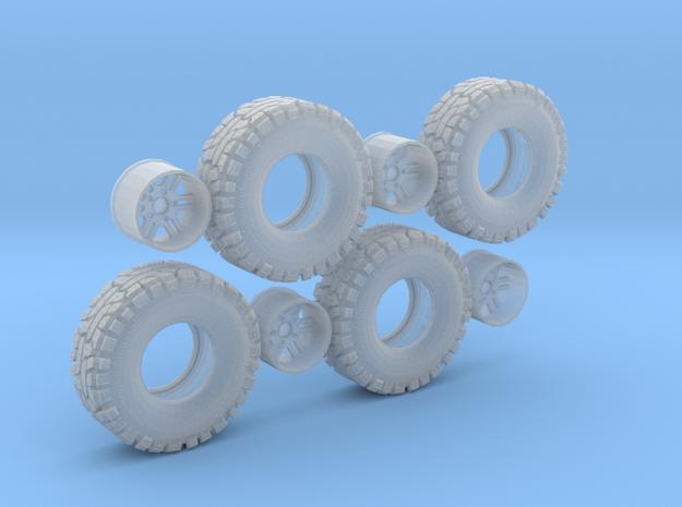 Thornbird Tire Wheel in Smooth Fine Detail Plastic