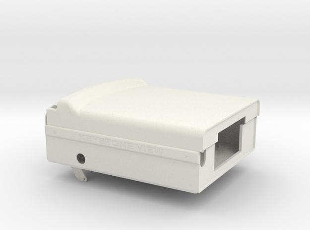 F&C2 in White Natural Versatile Plastic