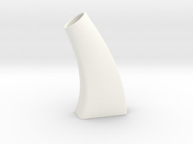 Vase Pour Une fleur ou un petit peu plus in White Processed Versatile Plastic