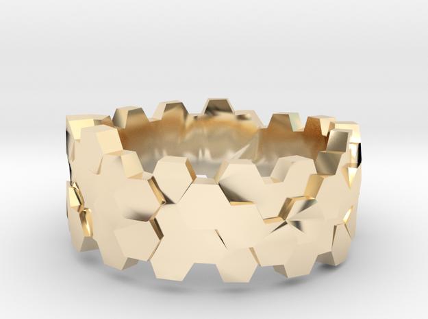 Hengsha ring: size 8 (US) Q (UK) 3d printed