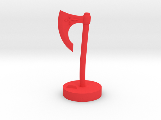 Role Playing Counter: Axe 3d printed