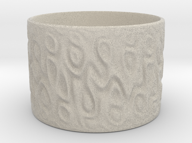 A Cup With No Handle Is A Plate, Topologically. in Natural Sandstone