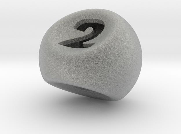 D3 in Metallic Plastic