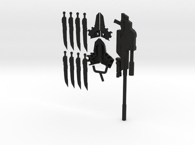 MAG Elnoa w Rifle for 1/12 Elenor Model Kit 3d printed