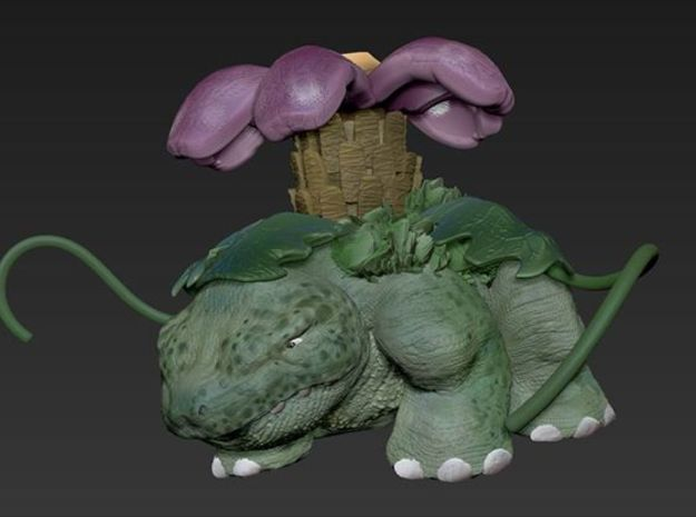 Realistic Pokemon! Venasaur in White Natural Versatile Plastic