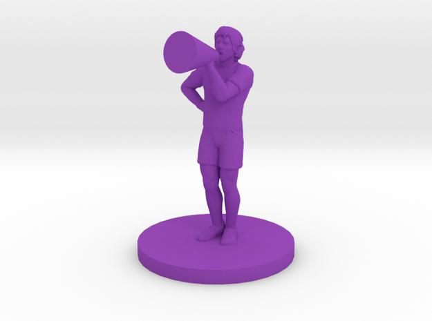 Male Cheerleader 3d printed