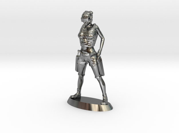 Mentak Infantry in Fine Detail Polished Silver
