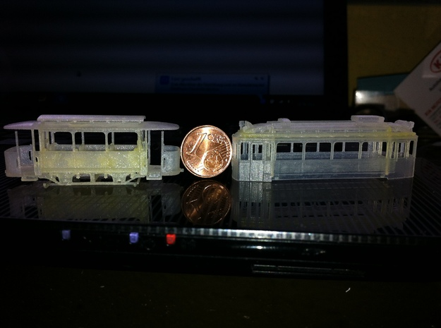 Wismar 1919 Tw N Scale 1:160 in Smoothest Fine Detail Plastic