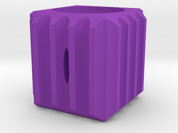 Dice54 in Purple Processed Versatile Plastic